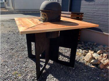 【DIY】BBQで使える折りたたみテーブルの作り方